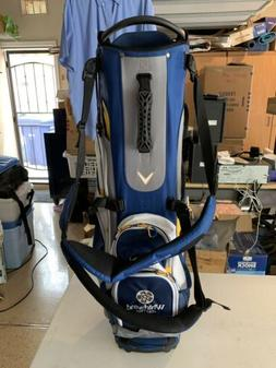 Callaway Fusion 14 Stand Golf Bag - Blue/White/Yellow ~ BRAN
