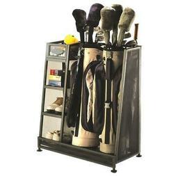 Suncast GO3216 32W x 37H x 17-1/2D Golf Organizer - Black
