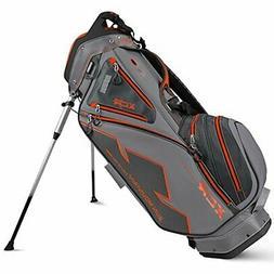 Sun Mountain Golf- 2016 XCR-S Stand Bag Gray-Gunmetal-Orange
