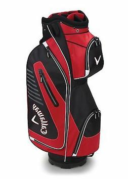 Callaway Golf 2017 Capital Cart Bag, Black/Red/White