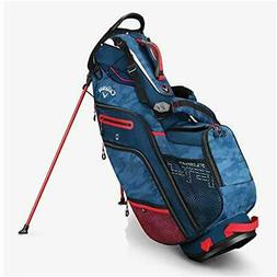 Callaway Golf 2019 Fusion 14 Stand Bag Navy Camo/Red/White/F
