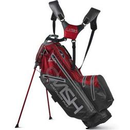 Sun Mountain Golf 2019 H2NO 14-Way Stand Bag - Fire-Gunmetal