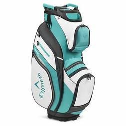 Callaway Golf 2020 ORG 14 Cart Bag-White-Teal-Charcoal 51200