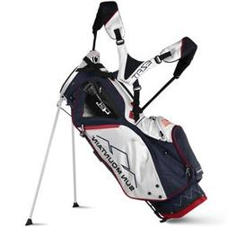 Sun Mountain Golf 2018 4.5 LS Stand Bag NAVY-WHT-RED