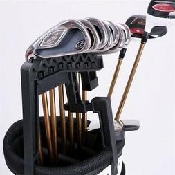 Golf 9 Iron Club Holder Stacker ABS Rack Organizer Accessori