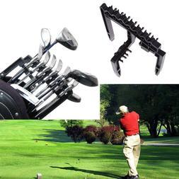 Golf 9 Iron Club Holder Stacker Rack Organizer Accessories T