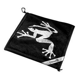 Frogger Golf Wet and Dry Amphibian Towel - Black/Gray