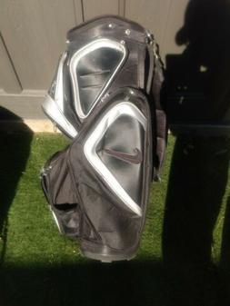 Nike Golf  Bag 14 Way Divider Black 8 Zipper Pockets 6 net p