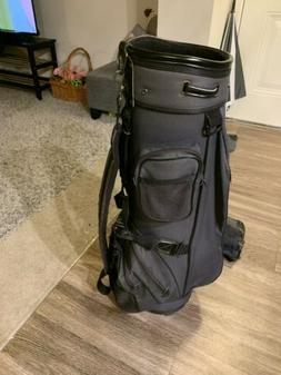 Knight Golf Bag,  Blue 6 Way Cart Bag,  Good Used Condition