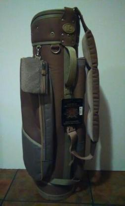 golf bag brown very lite easy to