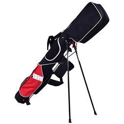 "Tangkula 5"" Golf Bag Club 7 Dividers Lightweight Carry Bag G"