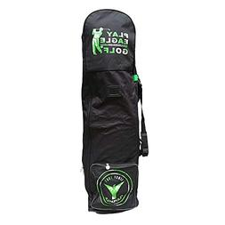 PLAYEAGLE Golf Travel Bag Cover with Wheels Foldable Double