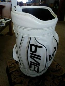 Ping Golf Bag Rare Den Caddie PingMan
