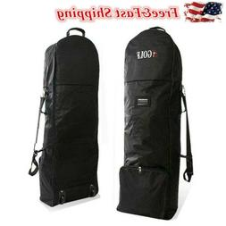 Golf Bag Travel Cover Air flight Cover Case Wheels Protect B