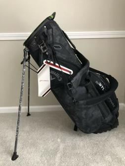 Callaway Golf Carry Bag Hyperlite 5 Brand New Black Camo