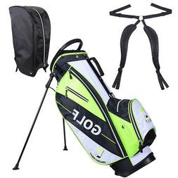 Golf Carry Cart Bag 14 Way Organizer Divider Stand w/Rain Ho