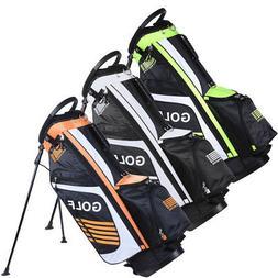 Golf Carry Cart Bag w/14 Ways Divider Organizer For 13 Golf