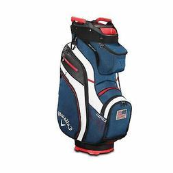 Callaway Golf Cart Bag 2019 Org 14 Waterproof Navy White Red