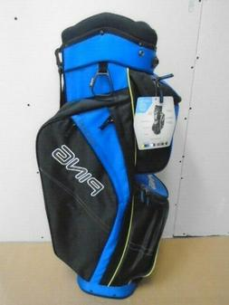 PING ~ GOLF CART BAG ~TRAVERSE  ~ ELECTRIC BLUE/BLACK