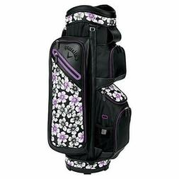 Callaway golf cart bag Uptown cart bag Hanagara black / purp