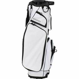 OGIO GOLF CLUB ME CART BAG WHITE 14-WAY TOP WITH 3 HANDLES L