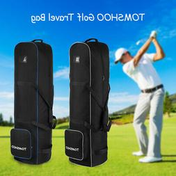 golf club padded travel bag flight cover