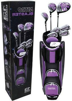 Golf Club Set For Ladies 13 Piece Right Handed Nitro Titaniu