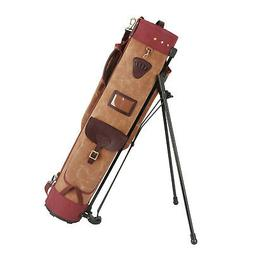 Tourbon Golf Club Stand Support Bag Carry Cart Travel Case S