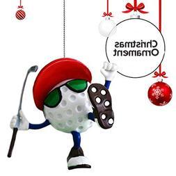 Be The Ball 4U Golf Decor Hanging Christmas Tree Ornament &