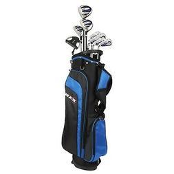 """Ram Golf EZ3 Tall Mens +1"""" Golf Clubs Set with Stand Bag - G"""
