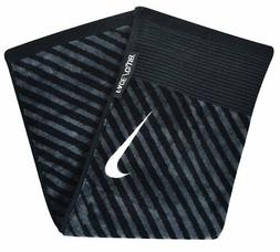 Nike Golf- Face/Club Jacquard Towel Black/Gray N87451