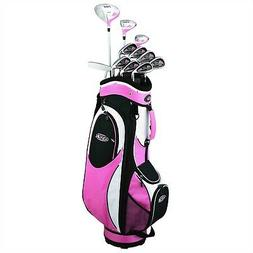 Golf Girl FWS2 PINK All Graphite Lady Hybrid Club Set RIGHT