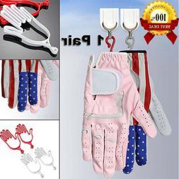Golf Gloves Stretcher Glove Holder Hanger Keep Shape 1 Pair