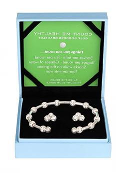 Golf Goddess Stroke/Score Counter Bracelet Gift Set - Silver