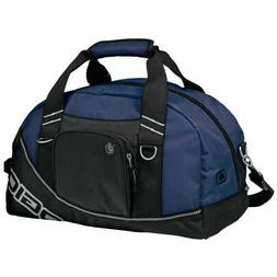 OGIO GOLF HALF DOME DUFFLE BAG/ GYM BAG- NAVY