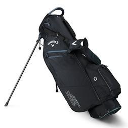 Callaway Golf Hyper-Lite Zero Double Strap Stand Bag Black T