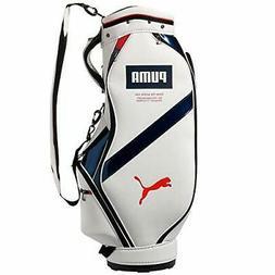 PUMA Golf Men's Caddy Bag CB Core 9 x 47 inch 2.9kg White Na