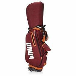 PUMA Golf Men's Stand Caddy Bag THROWBACK CB 9 x 47 inch 3.3