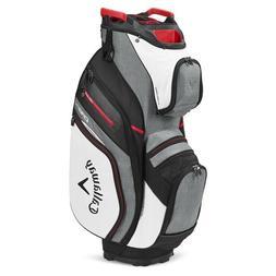 Callaway Golf Org 14 Cart Bag White-Charcoal - New 2020