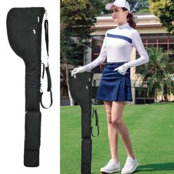 Golf Practice Travel Carry Bag Golf Club Case Sundry Driving