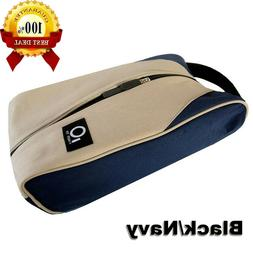 Golf Shoes Bag Breathable Zipper Sports Shoe Case Gym Outdoo