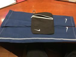 Nike Golf Sports Arm Sleeves BLUE Dri Fit Unisex Adult Size