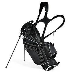 golf stand cart bag club w 6