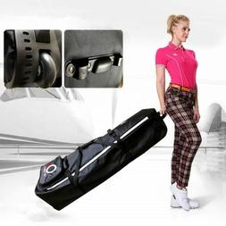 Golf Travel Bag Wheels Rolling Cover Case Carrier Lightweigh