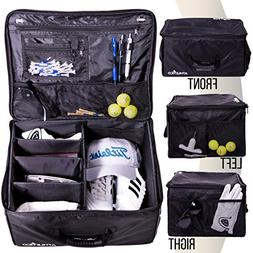 Athletico Golf Trunk Organizer Storage - Car Golf Locker to