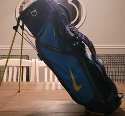 golf vapor x stand bag blue green
