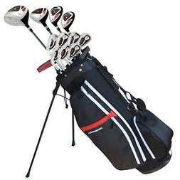 Prosimmon Golf X9 V2 All Graphite Clubs Set & Bag - Mens Rig