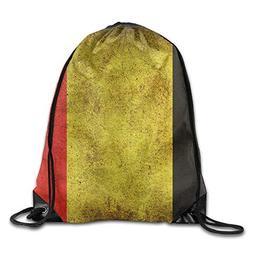 Sport Gym Rucksack Drawstring Backpack Bag By Anticso, Belgi