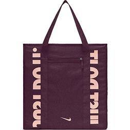 NIKE Gym Women's Training Tote Bag, Bordeaux/Bordeaux/Storm
