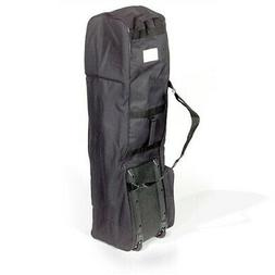 Heavy Duty Golf Bag Case Travel Cover With Wheels Carry Club